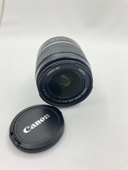 Lente Canon Efs 18-55mm - Usada
