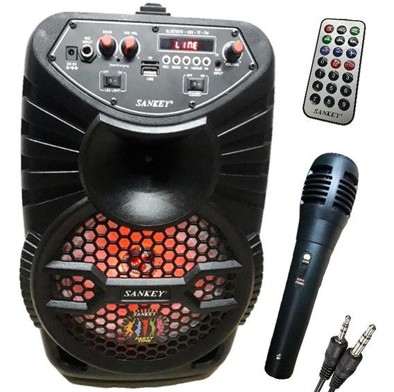 Corneta Recargable. Bluetooth, Usb Radio, Micrófono, Control