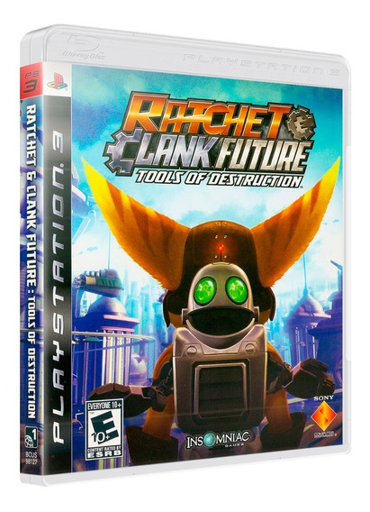 Ratchet & Clank Future Tools Of Destruction (ps3) Mídia Físi