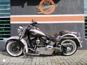 Harley Davidson Softail Deluxe Flstn 2008 - Aceito Troca Hd