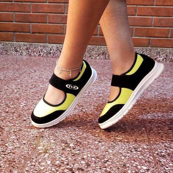 Zapatillas Guillerminas Urbanas Mujer Del 35 Al 40 Hhc V
