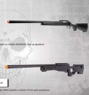 Airsoft Sniper Nova Na Caixa