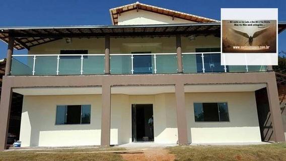 Casa Com 05 Dormitórios , (02 Suites )rural À Venda, Vila Guilhermina, Montes Claros. - Ca0021