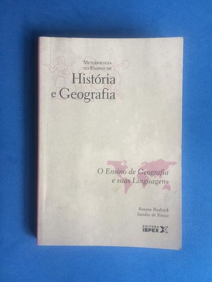 Livro - O Ensino De Geografia E Suas Linguagens - Ed. Ibpex