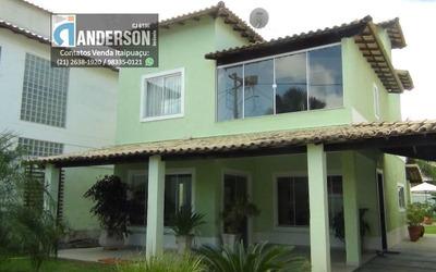 Casa Duplex Dentro De Condomínio Em Itaipuaçu