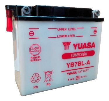 Batería Moto Yuasa Yb7bl-a