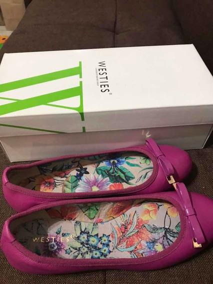Zapatos Flats Marca Westies Color Rosa #24