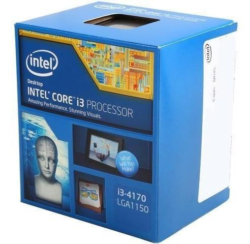 Processador Intel I3 4170 Lga 1150