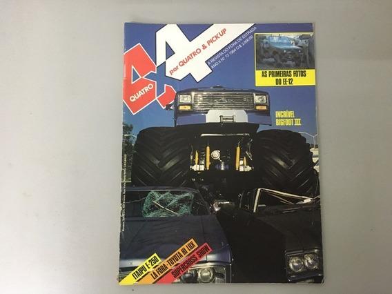 Revista 4x4 & Pick-up N.o 12 - Junho 1984