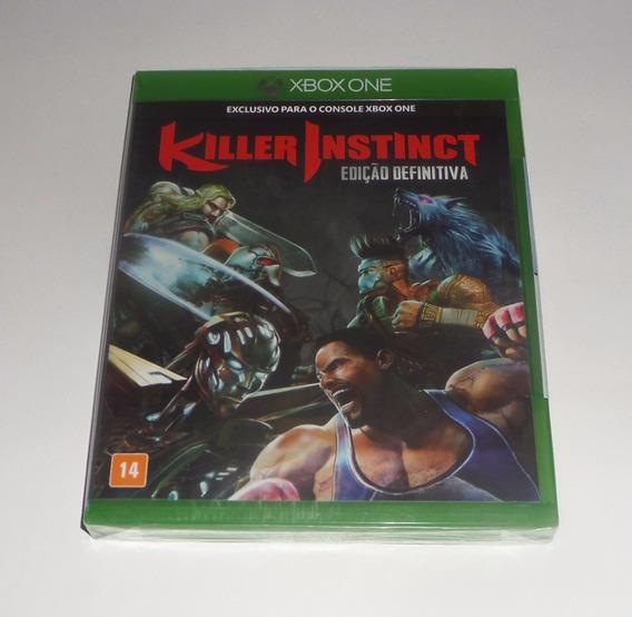 Killer Instinct Edição Definitiva Original Lacrado Xbox One