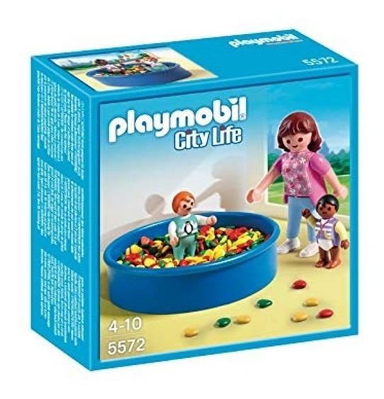 Playmobil 5572 Piscina De Bolinhas City Life Geobra