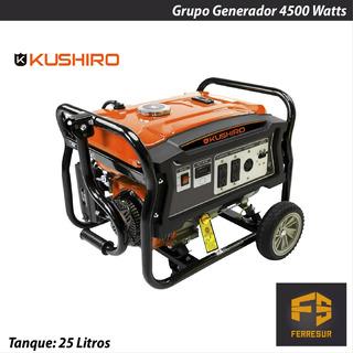 Grupo Generador Electrogeno 4500 Watts Kushiro
