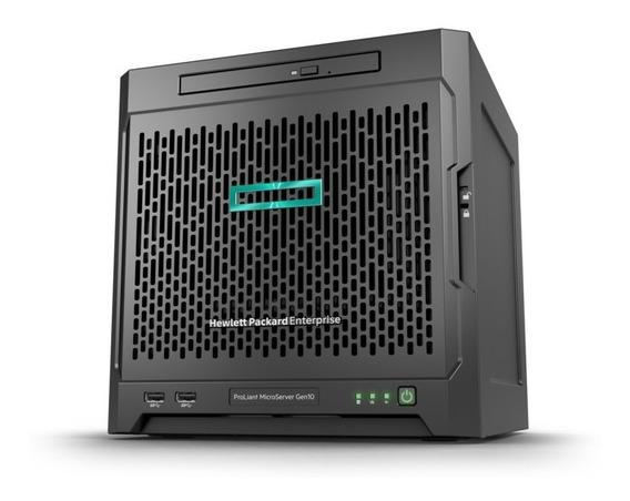 Servidor Hp Proliant Microserver G10 Sem Disco 8 Gb Nfe+gar