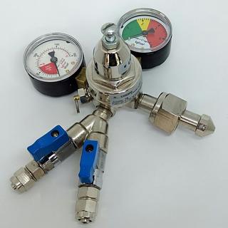 Regulador De Pressão Co2 Para Chopp 2 Saídas - Novo