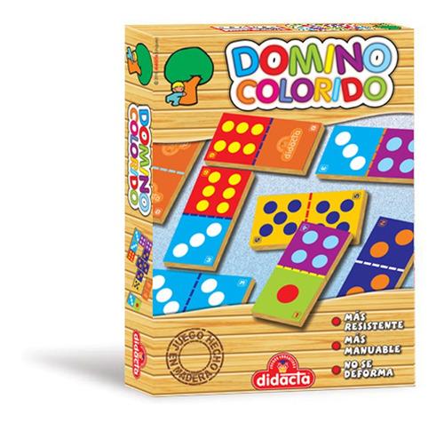 Domino Colorido Didacta Infatil Super Resistente