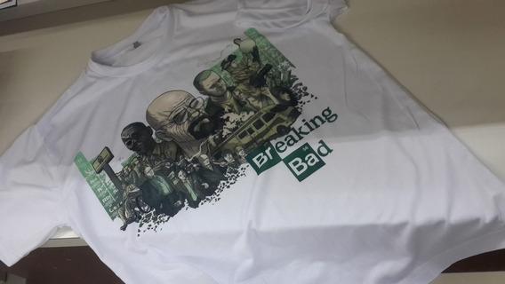 Camiseta -breaking Bad - Tamanho G Ou M