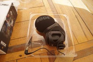 Micrófono Rode Stereo Videomic Pro Rycote