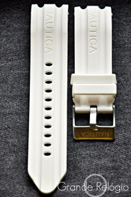 Pulseira Nautica 24mm Branca
