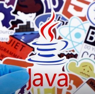 Lote Com 25 Adesivos Importados Pc Internet Java Hacker Prog