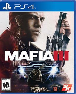 Mafia 3 - Ps4 Juego Fisico Nuevo