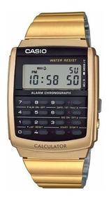 Relógio Casio Ca-506g-9adf Calculadora Alarme Cronôm Ca-506