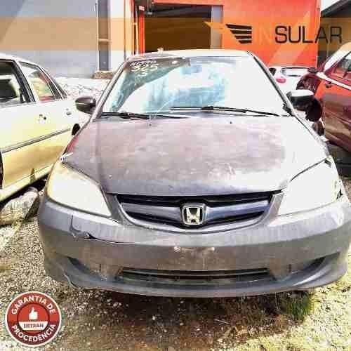 Peças Sucata Honda Civic 1.7 Manual 2001 2002 2003 A 2006