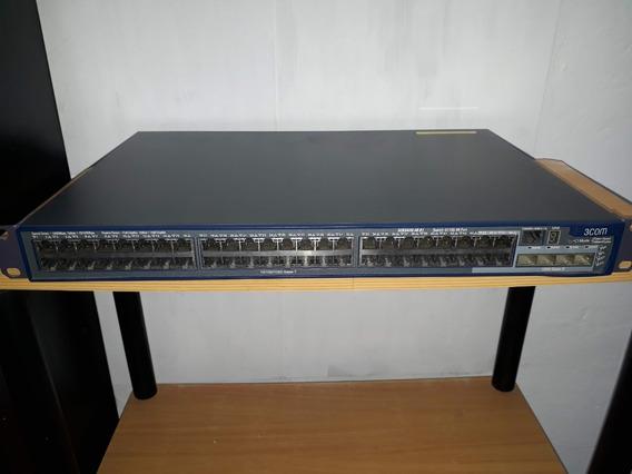 Switch 48 Puertos 10/100/1000 Administrable 3 Com 4210g