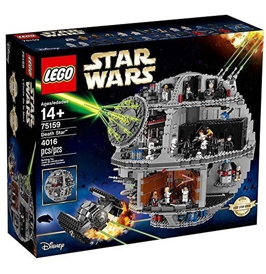 Lego Star Wars Estrella De La Muerte 75159 Juguete De Star W