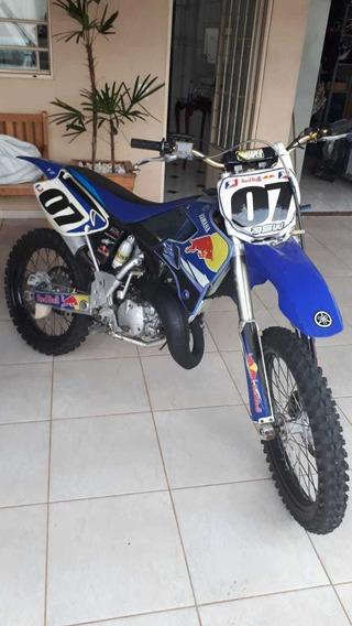 Yz 125 Moto Raridade Toda Original Nota Original Yamaha