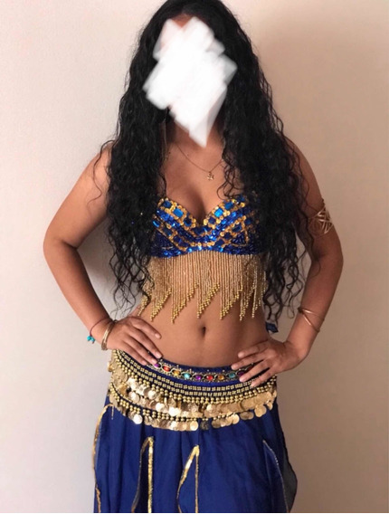 Traje De Danza Arabe