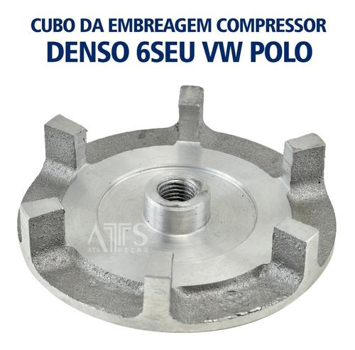 Cubo Da Embreagem Do Compressor Denso Volkswagen Polo 02-08