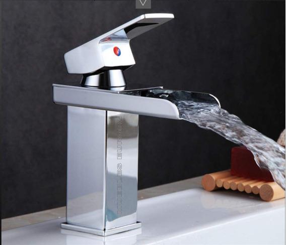 Llave Mezcladora Monomando Grifo Moderno Lavabo Baño Oferta