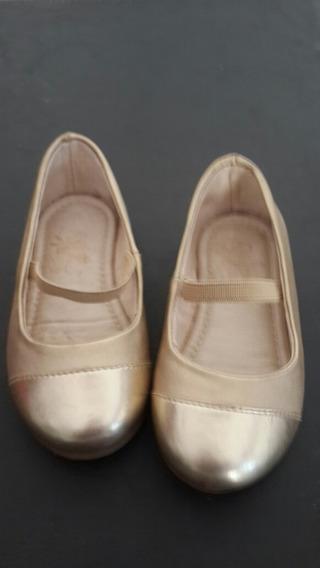 Zapato Niña Fiesta Número19 Plantilla 13