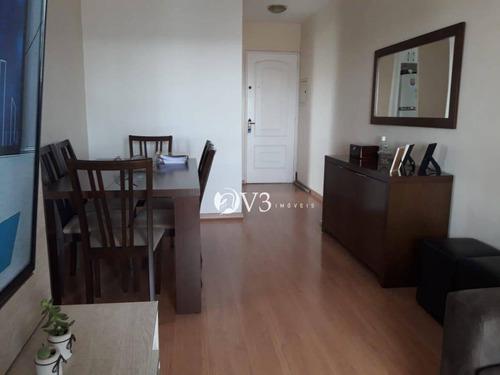 Apartamento Com 2 Dormitórios À Venda, 56 M² Por R$ 370.000,00 - Penha - São Paulo/sp - Ap0158