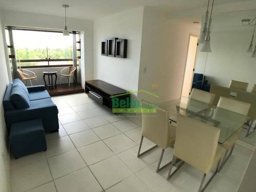 Apartamento Com 2 Dormitórios À Venda, 58 M² Por R$ 320.000,00 - Apipucos - Recife/pe - Ap1398