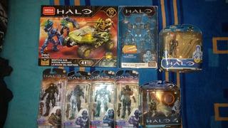 Lote Halo Warthog Run Megaconstrux 10 Aniversario Y Más