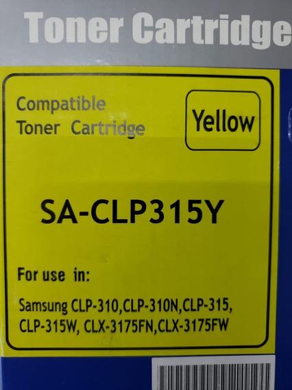 Kit Toner Compatível Samsung Sa-clp315