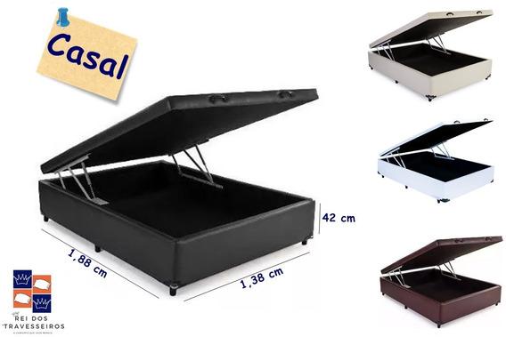 Cama Casal Box Baú Fabricação Própria 138x188