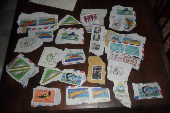 Panama Filatelia Sello Postal Estampilla Estampillas