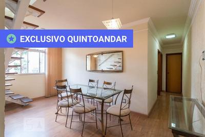 Apartamento No 3º Andar Mobiliado Com 2 Dormitórios E 1 Garagem - Id: 892910718 - 210718