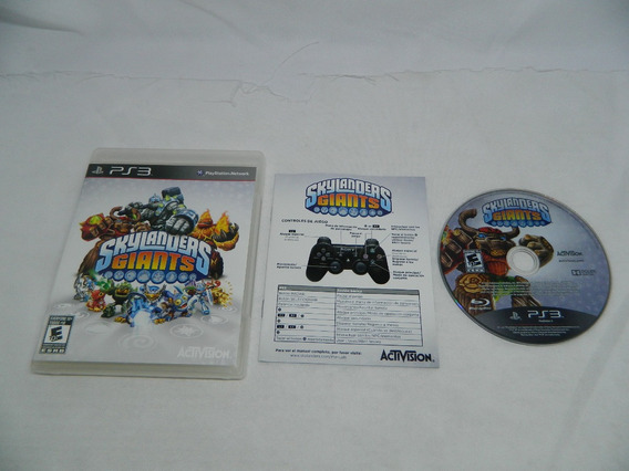 Skylanders Giants - Playstation 3 Ps3 Mídia Física Completa