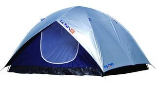 Barraca Impermeável Luna 6 Lugares Pessoas Camping Iglu Mor