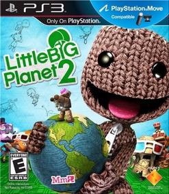 Jogo Little Big Planet 2 Ps3 Mídia Física Frete Grátis Db Pt