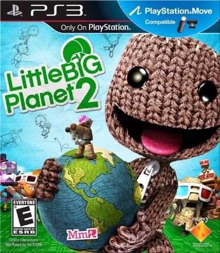 Jogo Little Big Planet 2 Ps3 Mídia Física Dub Português Lbp2