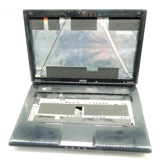 Carcaça Completa Notebook Msi Ms-1454