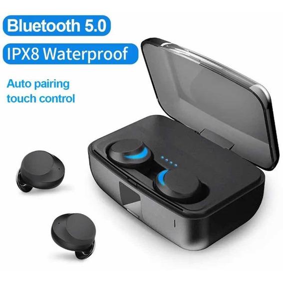 Fone Bluetooth 5.0 Estéreo Touch A Prova Dagua Para Esporte