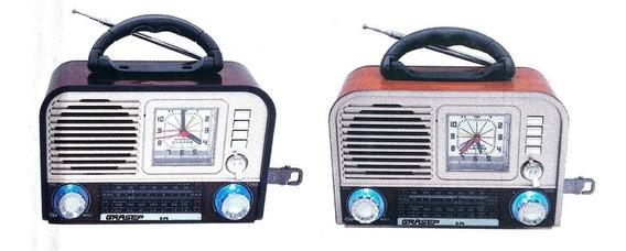 Caixa De Som D-f9 Relogio Bluetooth Am/fm/sd Radio