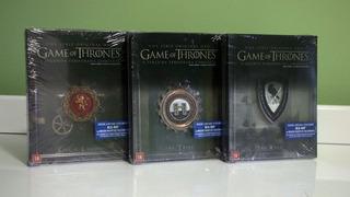 Steelbook Game Of Thrones 3ª E 4º Temporadas