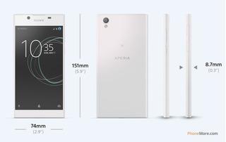 A Cel Sony Xperia L1 G3313,16 Gb,5.5 Pulgadas,xloud,