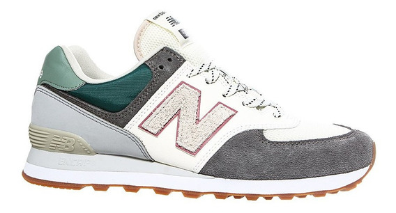 Zapatillas New Balance Ml574nfu Blanco/ Gris Sport Town